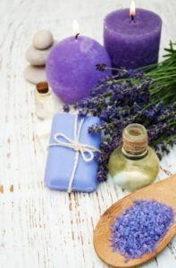 long lavender soap image