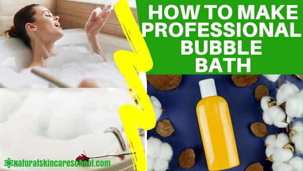 how to make bubble bath