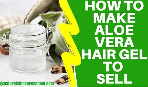 aloe vera hair gel formulation guide