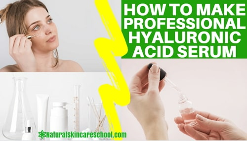 how to make hyaluronic acid serum formula