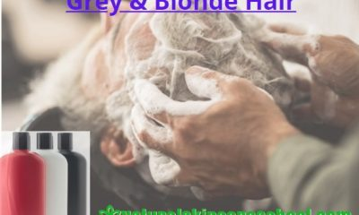 how to make shampoo for grey gray blonde hair