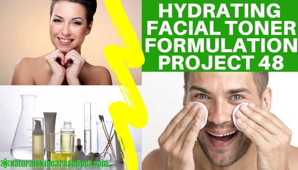 hydrating facial toner formulation guide