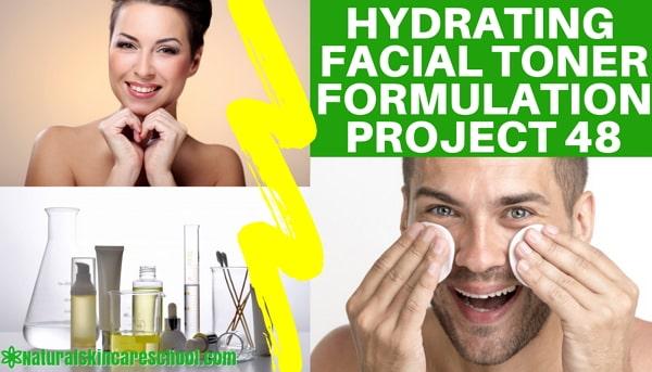 hydrating facial toner formulation guide