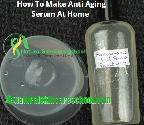 how to make anti aging serum at home