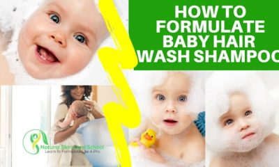 how to make baby natural shampoo