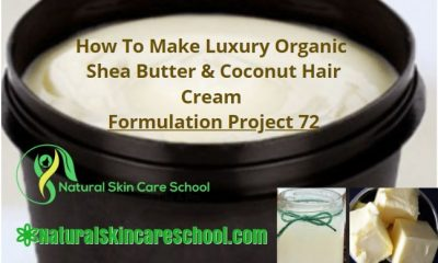 how to make hair cream with shea butter