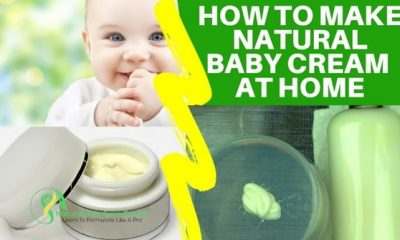 how to make natural baby cream