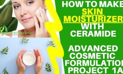 how to make skin moisturizer with ceramide