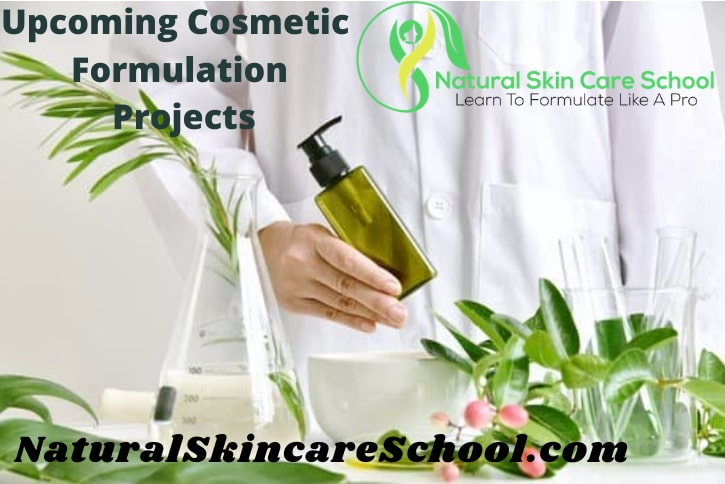 organic cosmetic formulation training