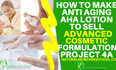 how to make aha lotion to sell