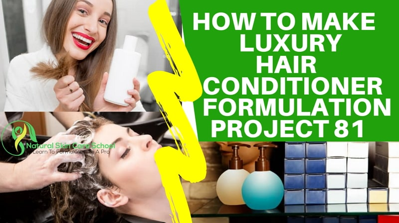 how to make luxury hair conditioner