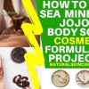 how to make sea mineral jojoba body scrub