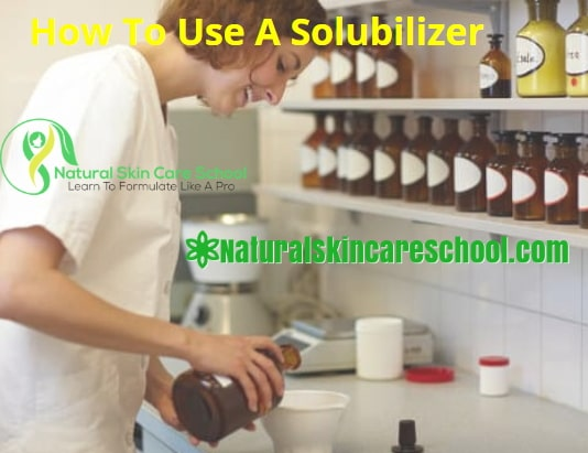 how to use solubilizer