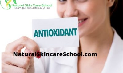 antioxidants organic cosmetic formulation