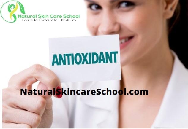 antioxidants organic cosmetic formulation