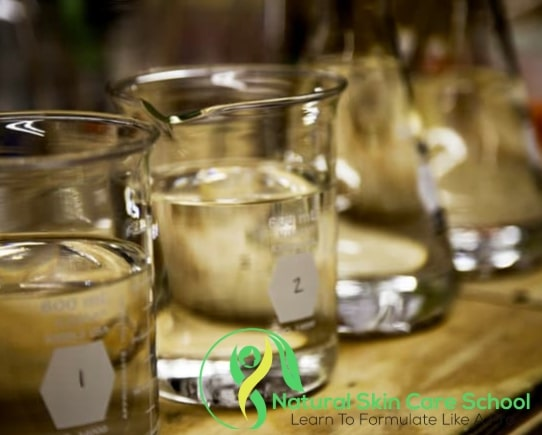 beakers for making cosmetics
