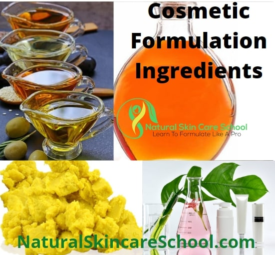 cosmetic formulation ingredients raw materials