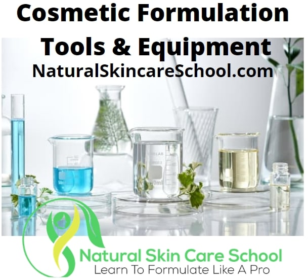 cosmetic formulation tools equipment