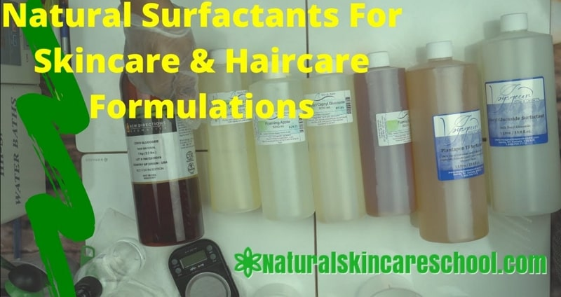 ecocert approved natural organic surfactants