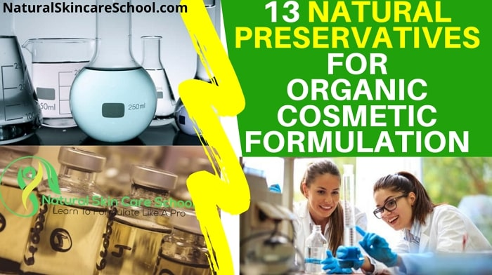 ecocert approved natural preservatives organic cosmetic formulation