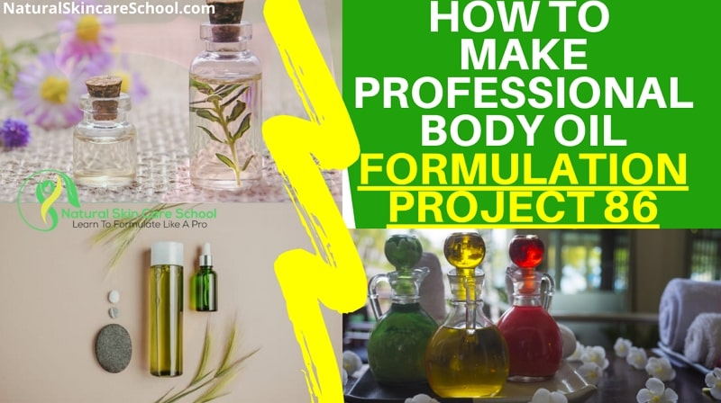 how to make body oils to sell