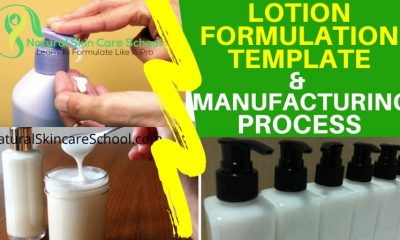 lotion formulation template