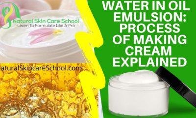 water in oil emulsion explained