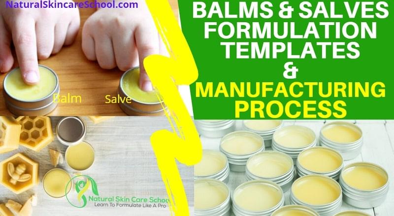 balm salve formulation template