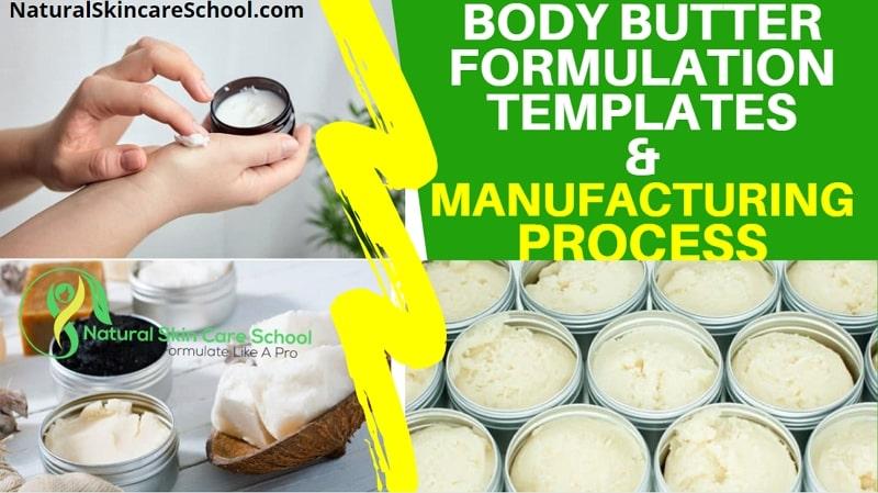 body butter formulation template