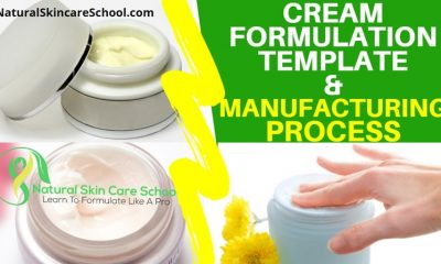 cream formulation template
