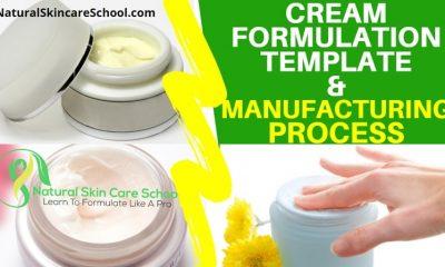 cream formulation template