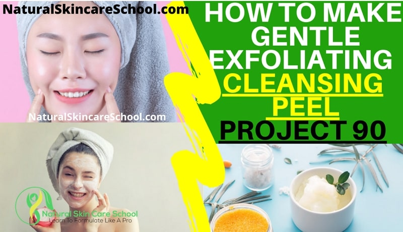 exfoliating cleansing peel recipe