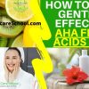 how to make aha fruit acids peel recipe
