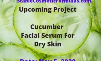 cucumber facial serum formula recipe
