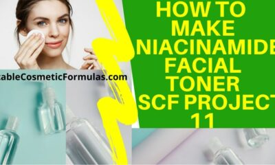 how to make niacinamide toner