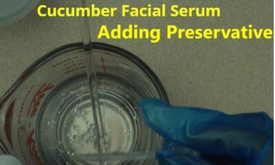 how to make cucumber serum