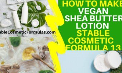how to make shea butter vegan lotion