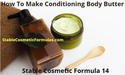 how to make conditioning body butter