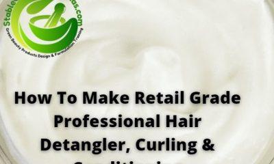 how to make hair detangler curling butter