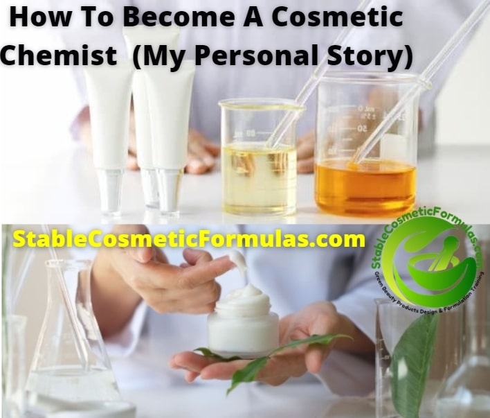 how to become a cosmetic chemist canada usa uk