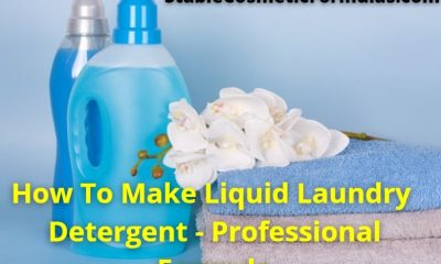 how to make liquid laundry detergent formula