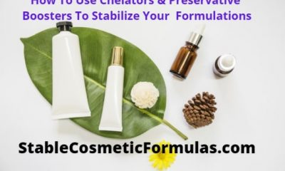 how to use chelators preservative boosters stabilize formulations
