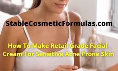 facial cream formula