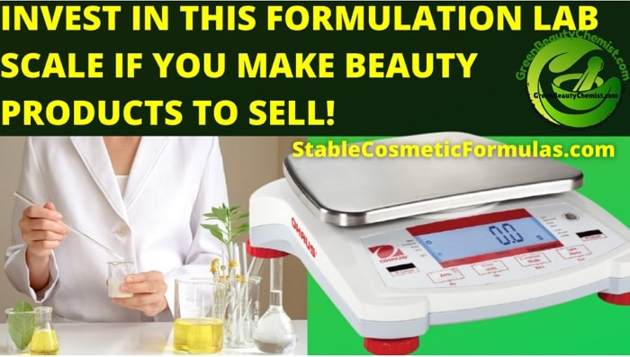best scales for cosmetic formulation