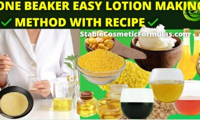one beaker lotion making procedure