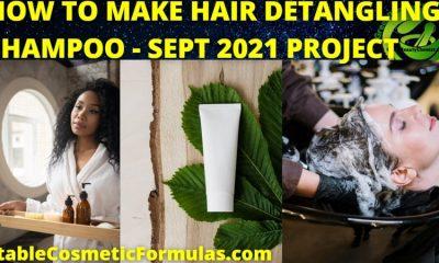 how to make hair detangling softening shampoo